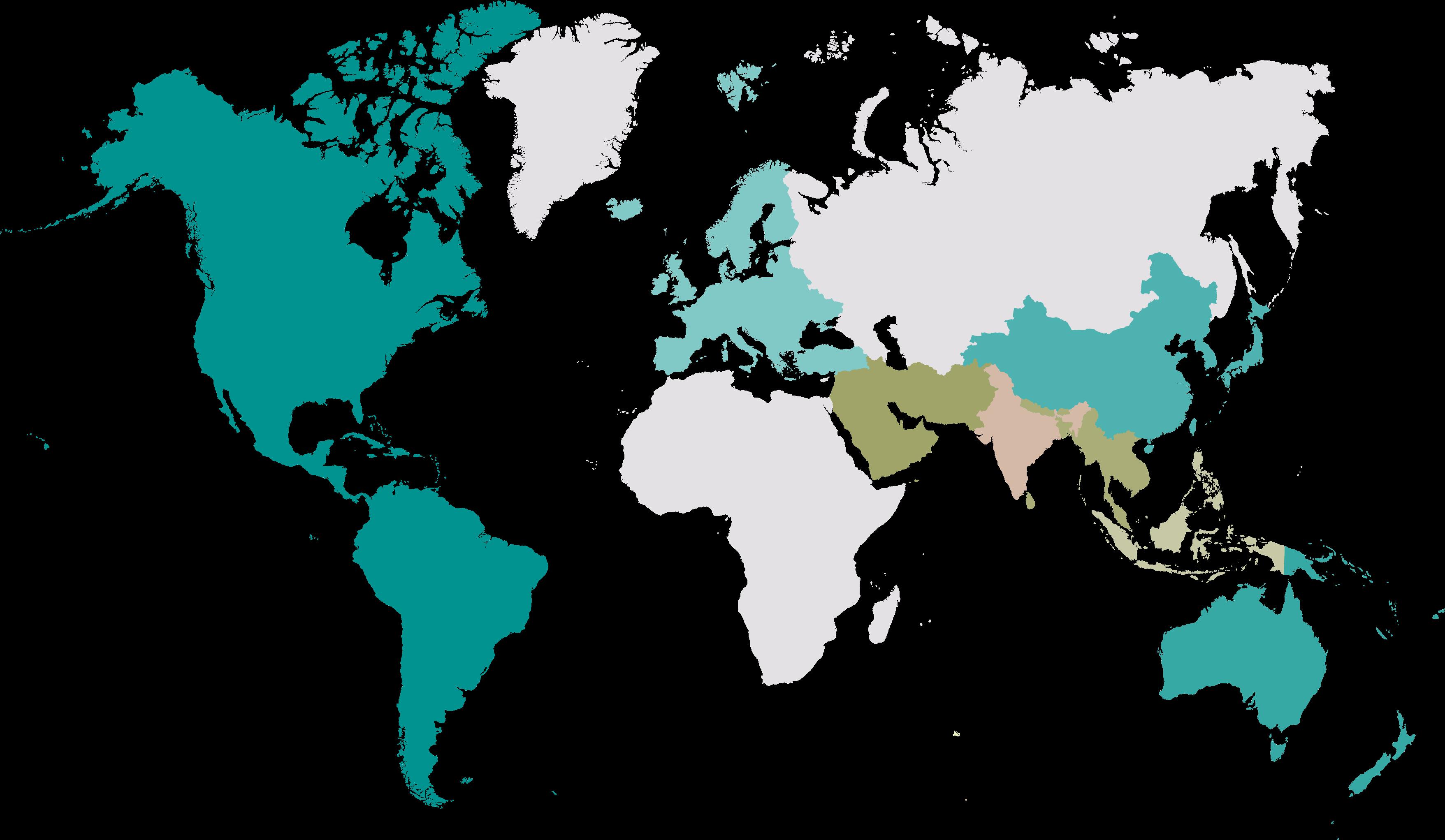 Hunter Amenities Map